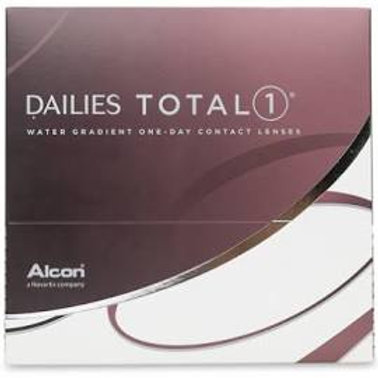 Dailies Total 1 Contact Lenses 90 Pack - Dialy