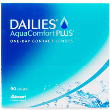 Dailies AquaComfort Plus Contact Lenses 90 Pack -Daily