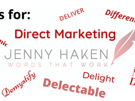 A-Z of Copywriting: D – Dare to be Different with your Direct Mail