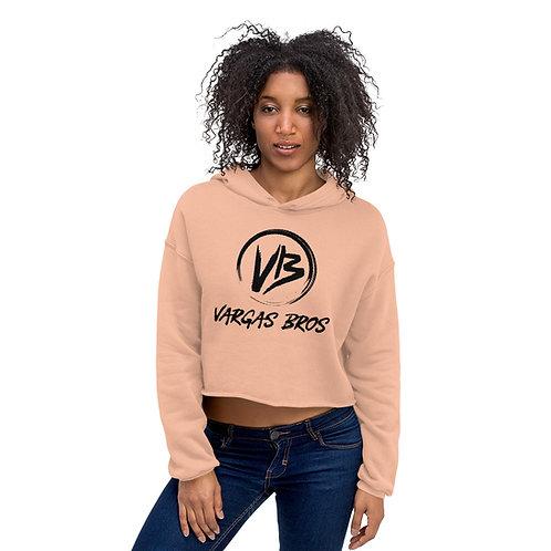 Vargas Bros Crop Hoodie Sweatshirt