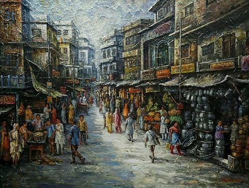 Into the bustling streets of Old Delhi