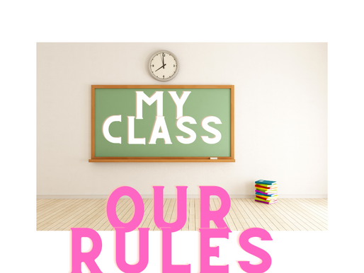 How To Get Along With Teens: Part 1 My Class Our Rules