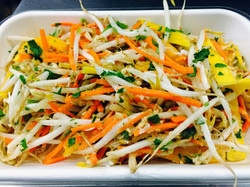 Thai Mango, Carrot & Sprout Salad