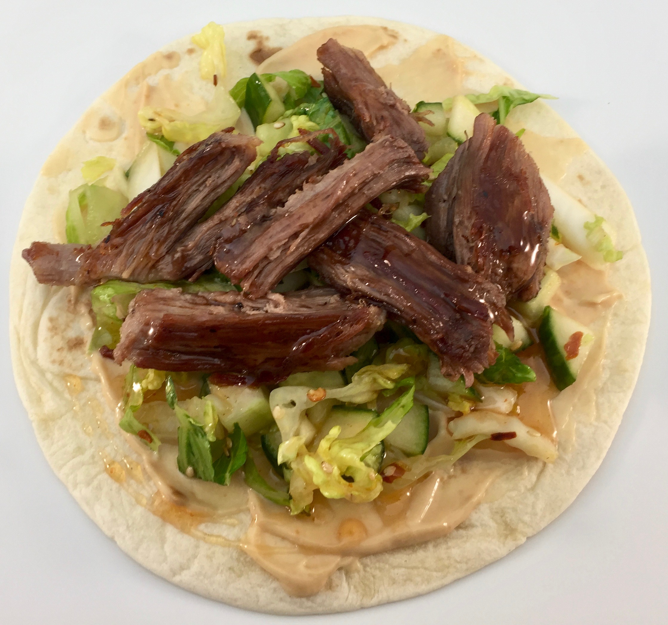 Korean Short Rib Taco