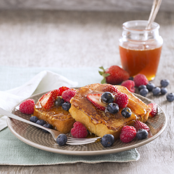 Honey Leches French Toast