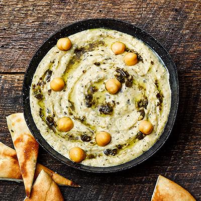 Pesto Chickpea Hummus