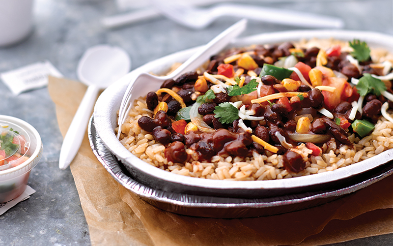 Fiesta BlackBean Rice Bowl