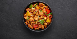 Spinning Cashew-Chicken