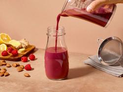 Almond Milk Elderberry Boost Juice