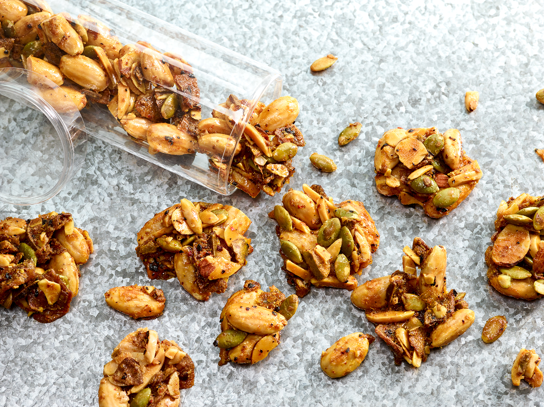 Spiced Apple Maple Almond Clusters