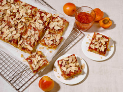 Harissa Apricot Almond Bars