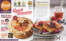 October Issue Food Network