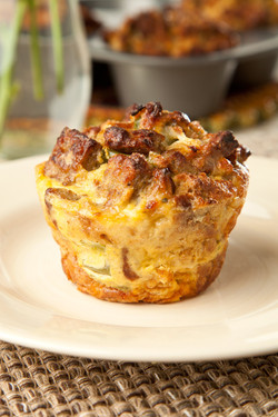 Strata Muffins