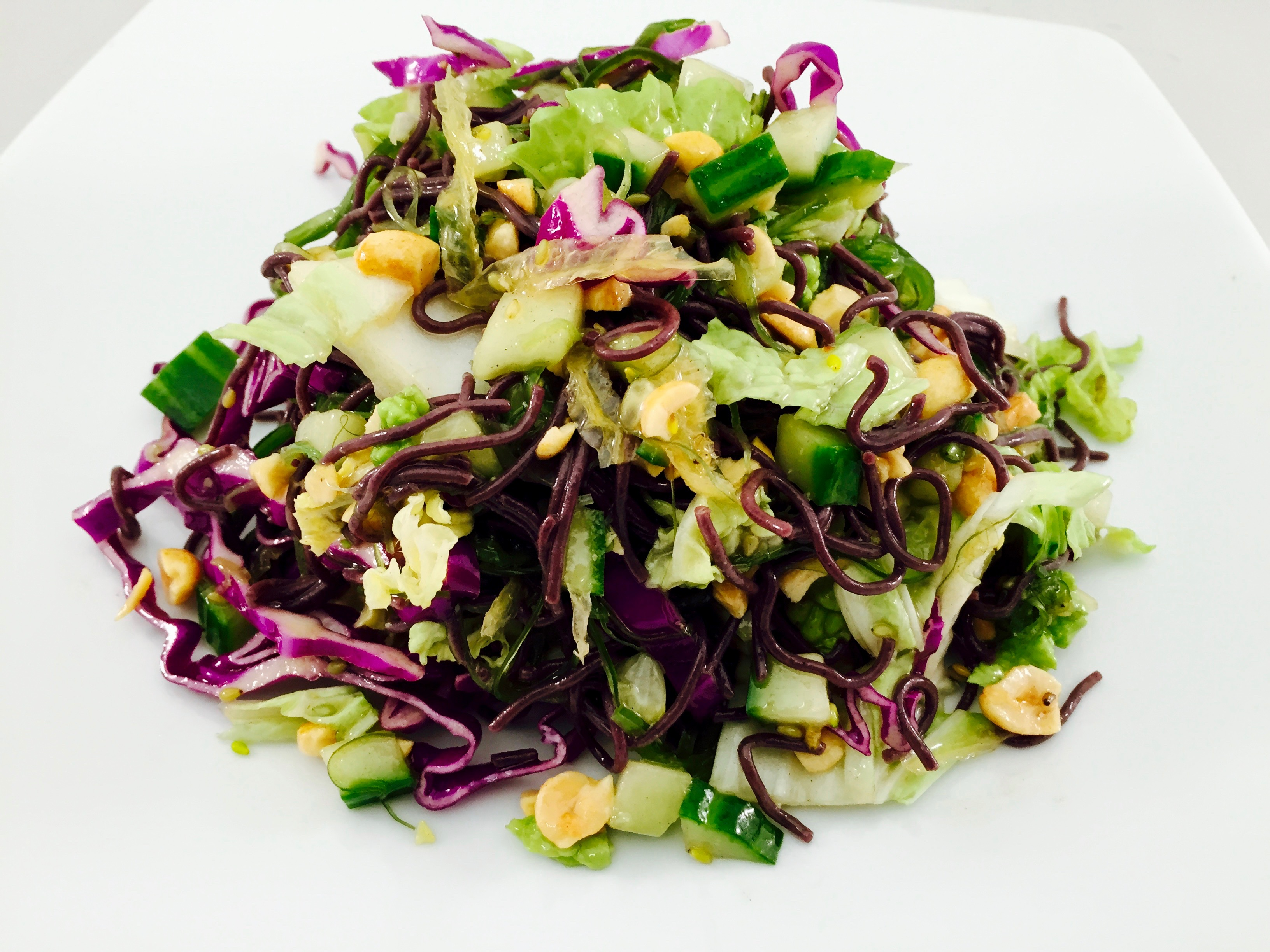 Black Ramen Noodle Salad