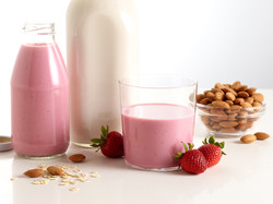 Toasted Grains Berry Almond Milk
