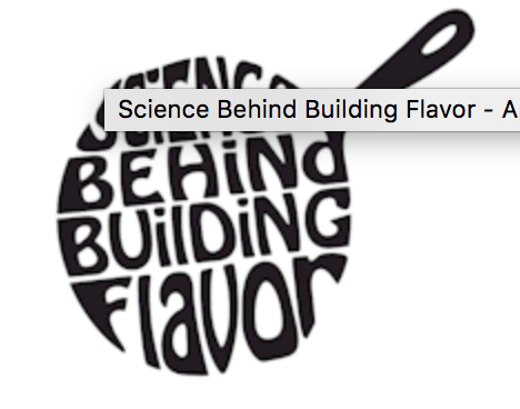 Science Behind Building Flavor