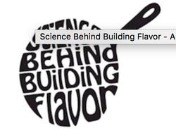 Science Behind Building Flavor