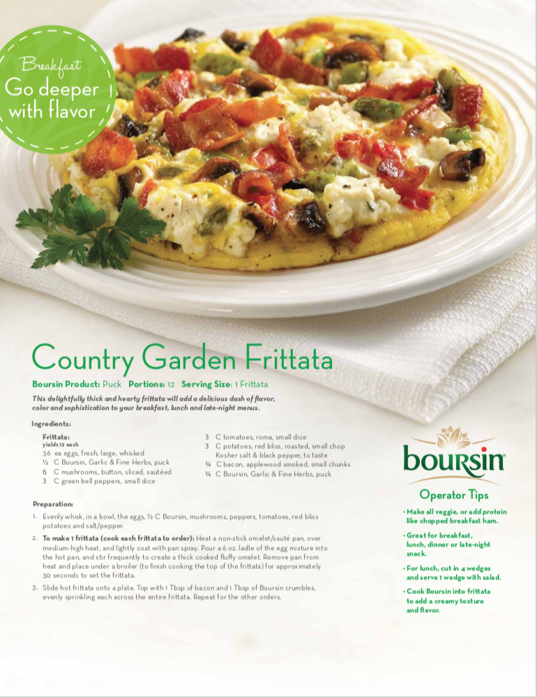 Country Garden Frittata