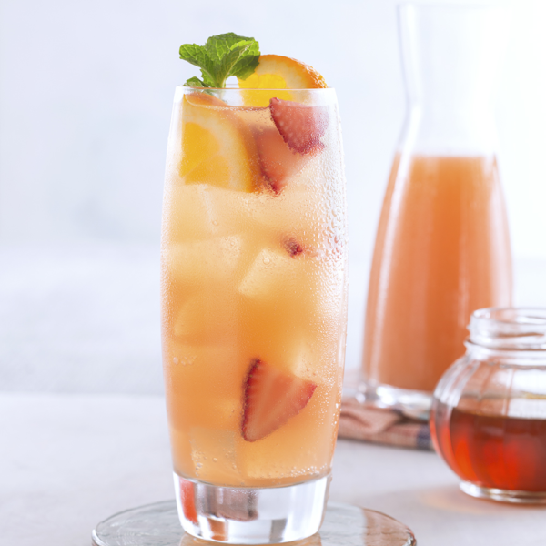 Honey Orange Ginger Fizz