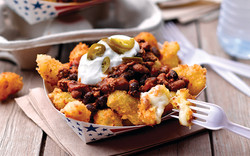 Chorizo Chili Cheese Curds