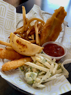 Calamari Fish n' Chips Basket