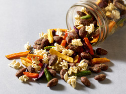 Ramen Almond Snack Mix