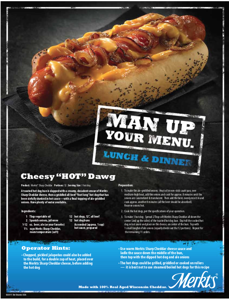 Cheesy Hot Dawg