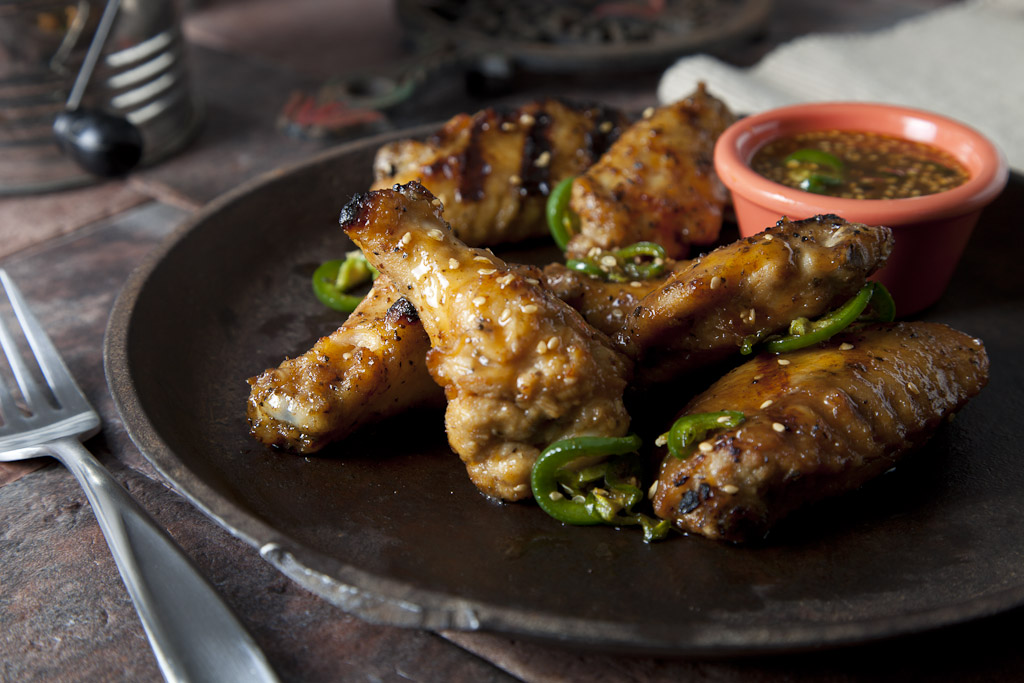 Jalapeno Candy Wings