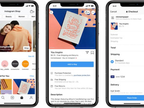 Facebook Shops: a new online shopping experience.
