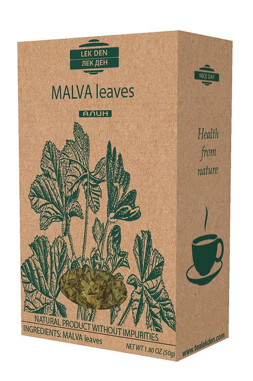 Malva leaves