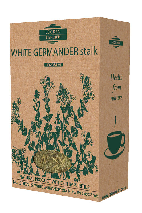 White Germander stalk