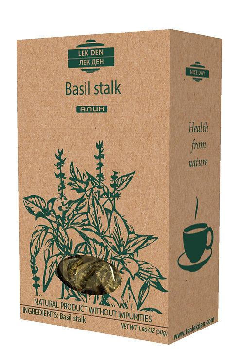 Basil stalk