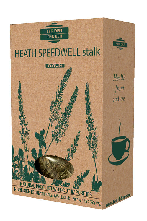 Heath Speedwell stalk