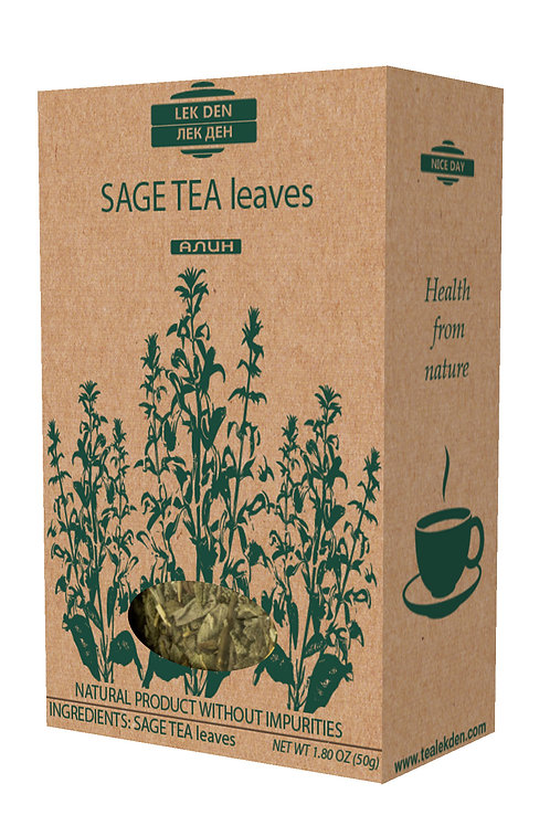 Sage Tea leaves