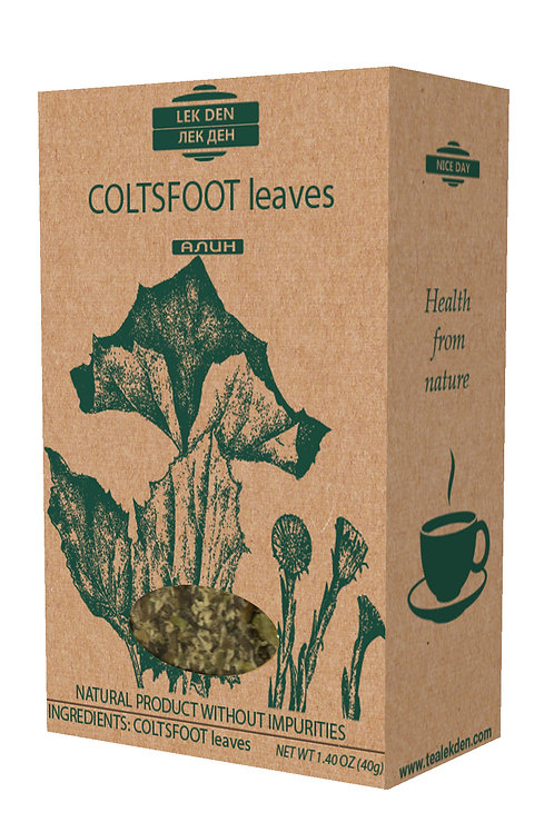 Coltsfoot leaves
