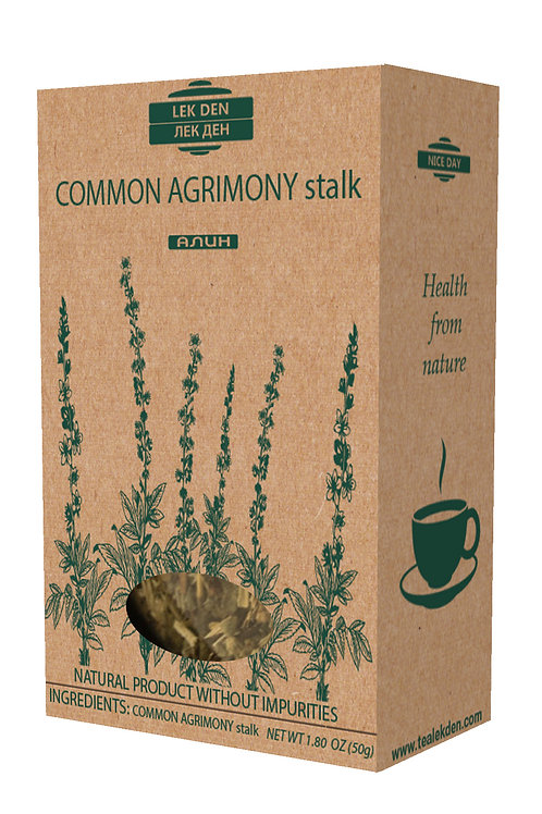 Common Agrimony stalk