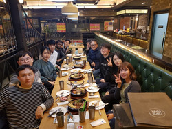 Year-end party, Dec. 2017
