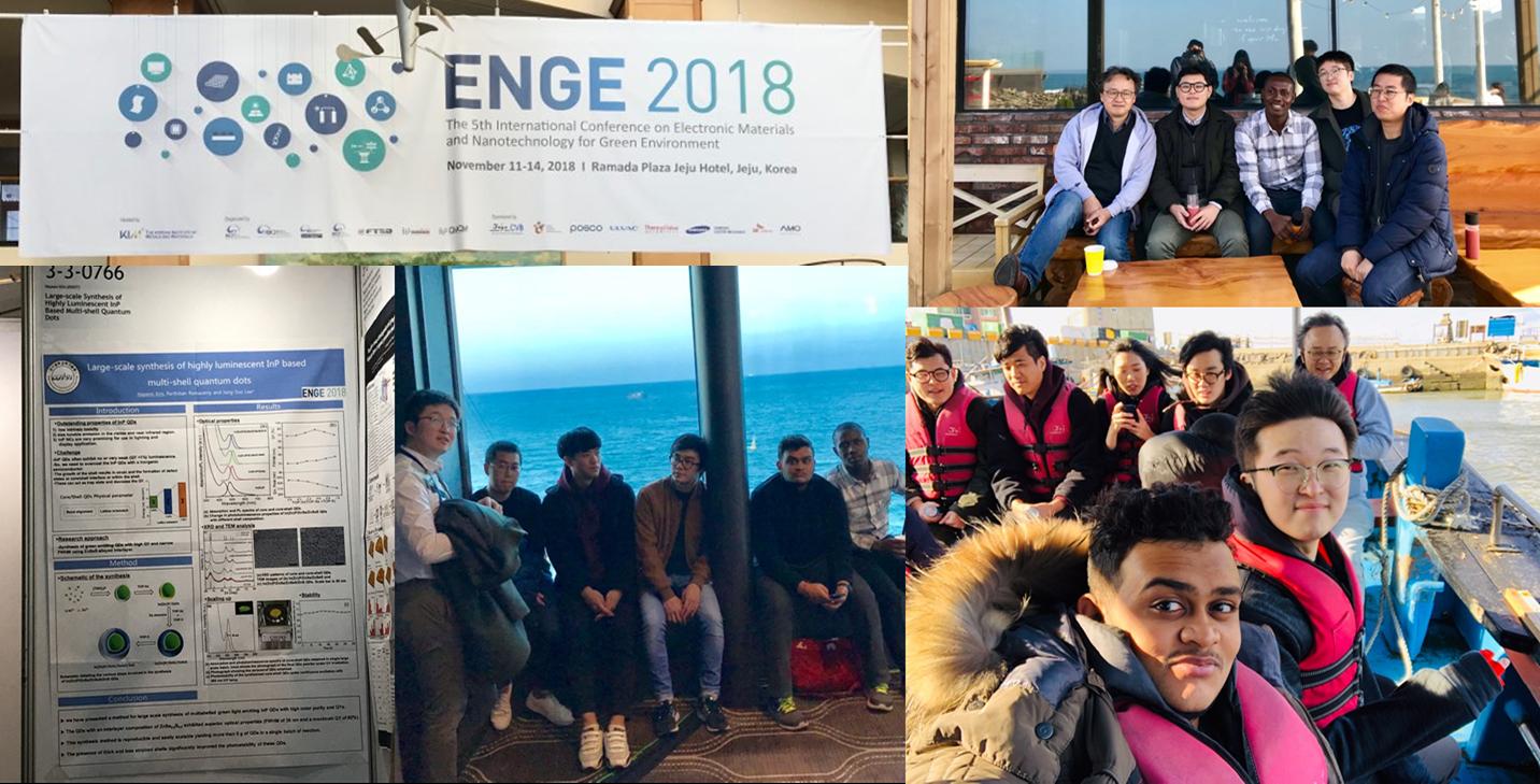 2018, November, ENGE 2018 conference