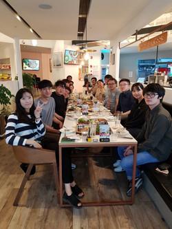 Teacher's day, Evening party