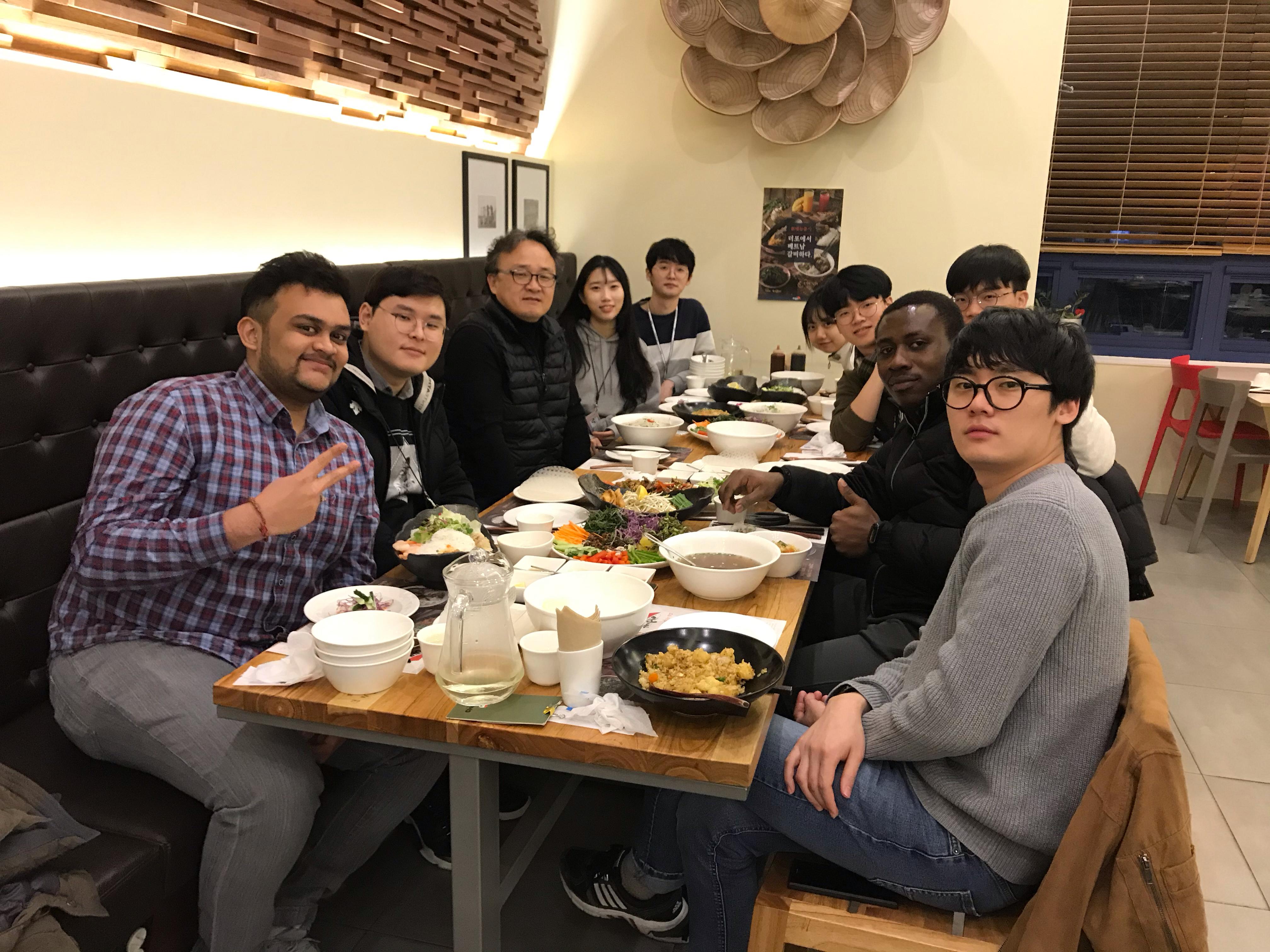 2020 회식 with 동계인턴