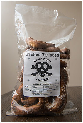 Wicked Twisted Hard Pretzels 8 oz.