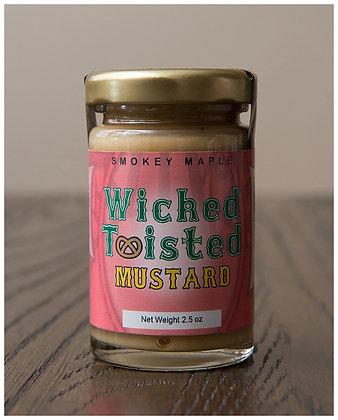 Wicked Twisted Smokey Maple Mustard 2.5 oz