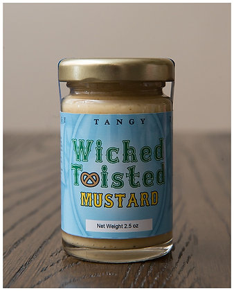 Wicked Twisted Tangy Mustard 2.5 oz