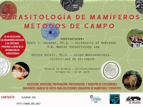 MÉTODOS DE CAMPO EN PARASITOLOGÍA DE MAMÍFEROS