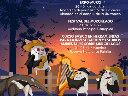 VII FESTIVAL DEL MURCIÉLAGO, YOPAL - CASANARE 2019