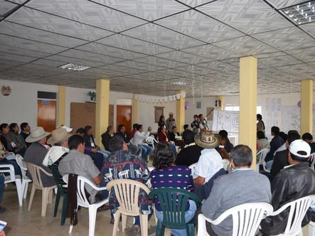 TALLER PARTICIPATIVO DEL TURISMO DE NATURALEZA EN EL CAÑÓN DEL GUATIQUÍA