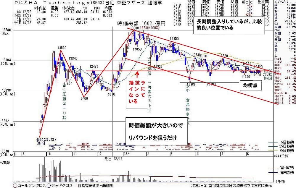 3993PKSHA Technology | kabu104.jp