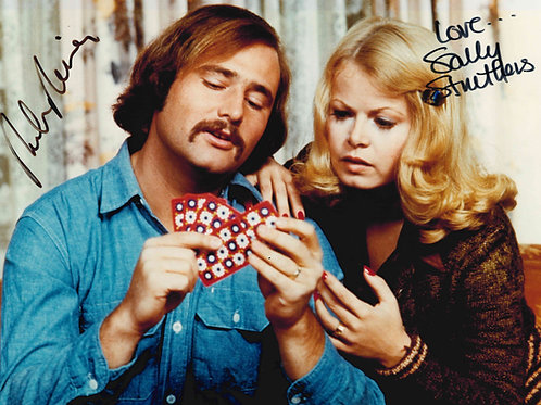 Rob Reiner and Sally Struthers Autographed 8x10 Photo
