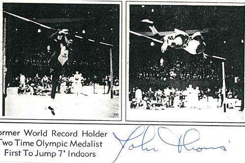 John Thomas Autographed Photo