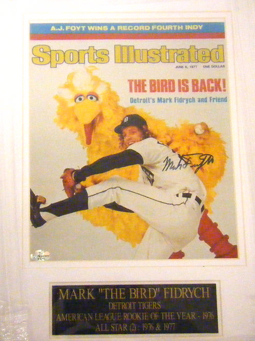 Mark Fidrych Autographed Sports Illustrated